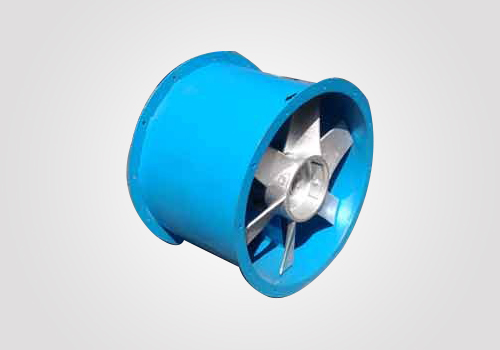 Axial Tubular Fan : Axial flow fans tubular drum type duct mount